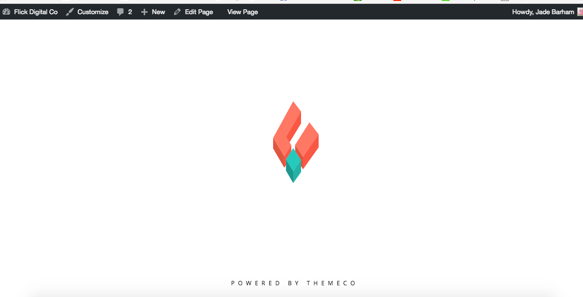 the cornerstone logo spinning